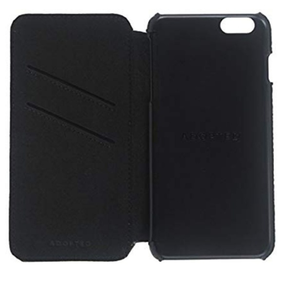 on sale 73554 afbe2 ADOPTED Leather Folio Case for Apple iPhone 6 Plus